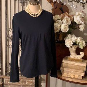Burberry black nova check elbow patch tee shirt